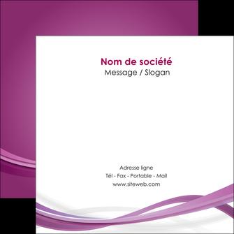 personnaliser modele de flyers violet violette abstrait MIS66973