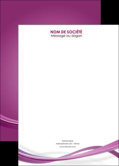 creer modele en ligne affiche violet violette abstrait MLGI66983