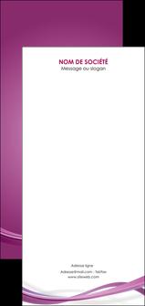 personnaliser maquette flyers violet violette abstrait MLGI66989