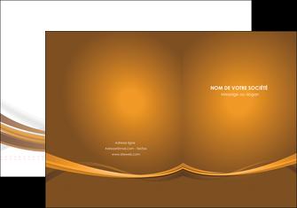 personnaliser modele de pochette a rabat marron marron chocolat couleur MIF67055