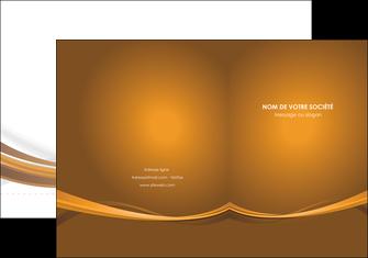 creer modele en ligne pochette a rabat marron marron chocolat couleur MIF67057