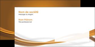 personnaliser modele de enveloppe marron marron chocolat couleur MIF67081