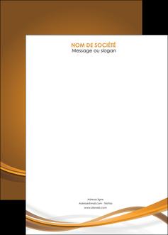 creer modele en ligne affiche marron marron chocolat couleur MIF67087