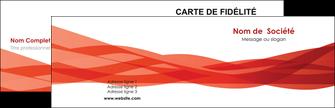 realiser carte de visite rouge couleurs chaudes fond  colore MLGI67113