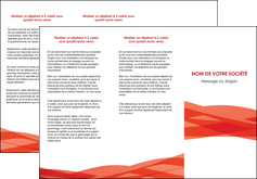 maquette en ligne a personnaliser depliant 3 volets  6 pages  rouge couleurs chaudes fond  colore MLGI67131