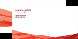 imprimer enveloppe rouge couleurs chaudes fond  colore MLGI67143