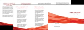 modele en ligne depliant 4 volets  8 pages  rouge couleurs chaudes fond  colore MLGI67147