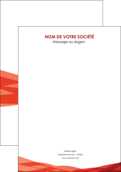 personnaliser modele de flyers rouge couleurs chaudes fond  colore MLGI67149