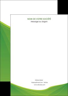 faire modele a imprimer flyers espaces verts vert fond vert couleur MLGI67157