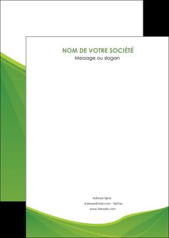 creation graphique en ligne flyers espaces verts vert fond vert couleur MLGI67159