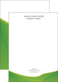 cree affiche espaces verts vert fond vert couleur MLGI67163