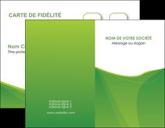 personnaliser modele de carte de visite espaces verts vert fond vert couleur MLGI67165