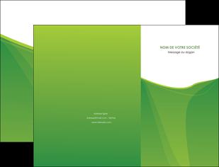 modele pochette a rabat espaces verts vert fond vert couleur MLGI67167