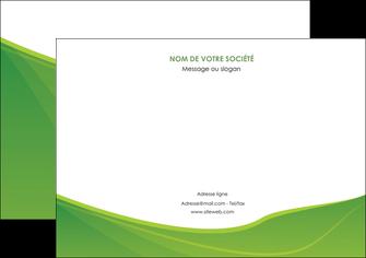 modele flyers espaces verts vert fond vert couleur MLGI67189