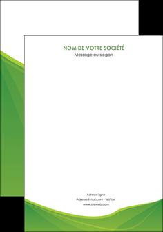 personnaliser modele de affiche espaces verts vert fond vert couleur MLGI67197