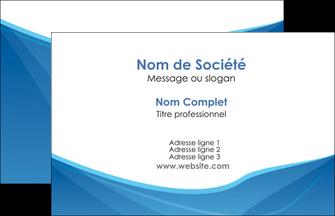 faire carte de visite bleu bleu pastel couleur froide MLGI67265