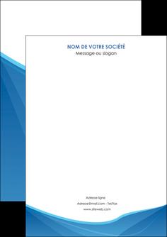personnaliser modele de flyers bleu bleu pastel couleur froide MLGI67267