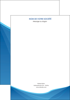 imprimerie affiche bleu bleu pastel couleur froide MLGI67271