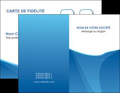 personnaliser maquette carte de visite bleu bleu pastel couleur froide MLGI67275