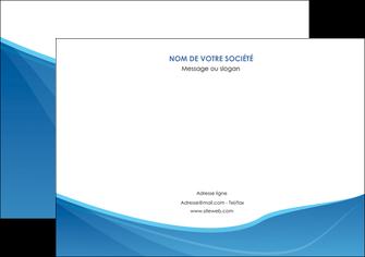 personnaliser maquette flyers bleu bleu pastel couleur froide MLGI67299