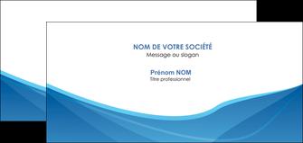 creer modele en ligne carte de correspondance bleu bleu pastel couleur froide MLGI67303