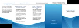 creation graphique en ligne depliant 4 volets  8 pages  bleu bleu pastel couleur froide MLGI67309