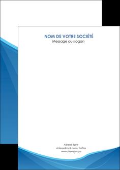 personnaliser maquette flyers bleu bleu pastel couleur froide MLGI67311