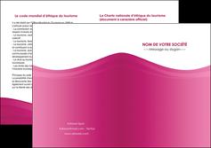 imprimer depliant 2 volets  4 pages  fond violet texture  violet contexture violet MLGI67321
