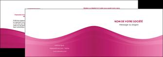impression depliant 2 volets  4 pages  fond violet texture  violet contexture violet MLGI67337