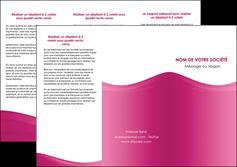 faire depliant 3 volets  6 pages  fond violet texture  violet contexture violet MLGI67347