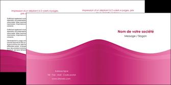 faire depliant 2 volets  4 pages  fond violet texture  violet contexture violet MLGI67351