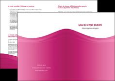 faire depliant 2 volets  4 pages  fond violet texture  violet contexture violet MLGI67361