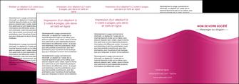 faire modele a imprimer depliant 4 volets  8 pages  fond violet texture  violet contexture violet MLGI67369