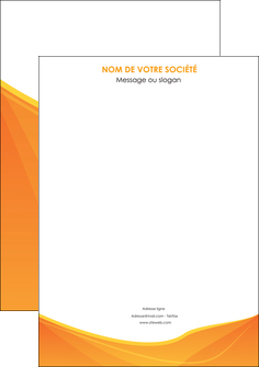 personnaliser modele de affiche orange fond orange jaune MLGI67375