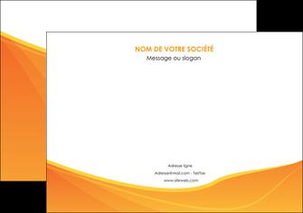 personnaliser modele de affiche orange fond orange jaune MLGI67393