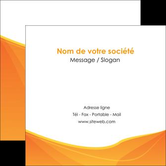 faire flyers orange fond orange jaune MLGI67407