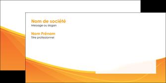 creation graphique en ligne enveloppe orange fond orange jaune MLGI67411