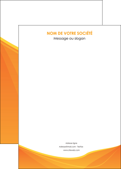 creer modele en ligne affiche orange fond orange jaune MLGI67417