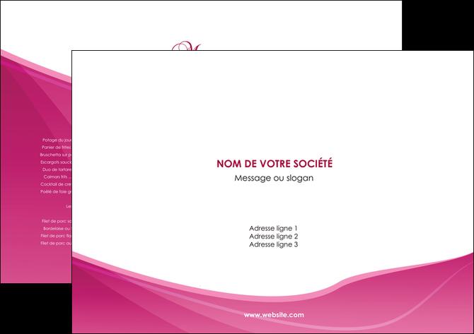 Set De Table Modele Et Exemple Rose Fushia Fonce Couleur