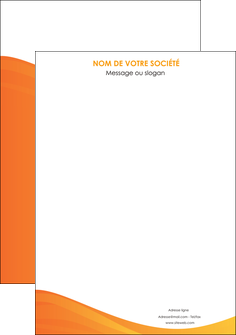 creation graphique en ligne affiche orange fond orange couleur MLGI67843