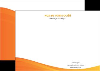 maquette en ligne a personnaliser affiche orange fond orange couleur MLGI67859