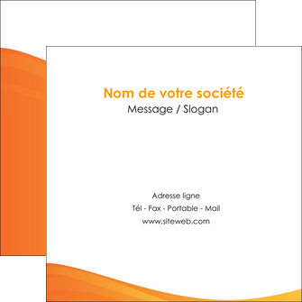 exemple flyers orange fond orange couleur MLGI67875