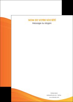faire affiche orange fond orange couleur MLGI67885