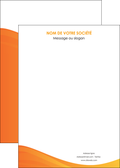 faire affiche orange fond orange couleur MLGI67885