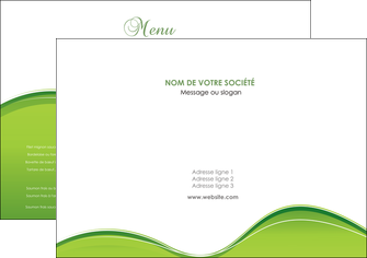 cree set de table espaces verts vert vert pastel couleur pastel MLGI68015