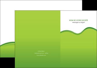 creation graphique en ligne pochette a rabat espaces verts vert vert pastel couleur pastel MLGI68029