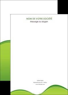 realiser affiche espaces verts vert vert pastel couleur pastel MLGI68059