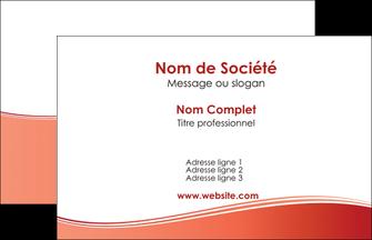 realiser carte de visite rouge couleurs chaudes fond  colore MLIG68335