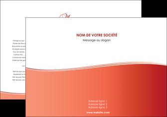 modele en ligne set de table rouge couleurs chaudes fond  colore MLGI68337