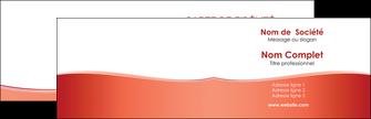 modele carte de visite rouge couleurs chaudes fond  colore MLIG68345